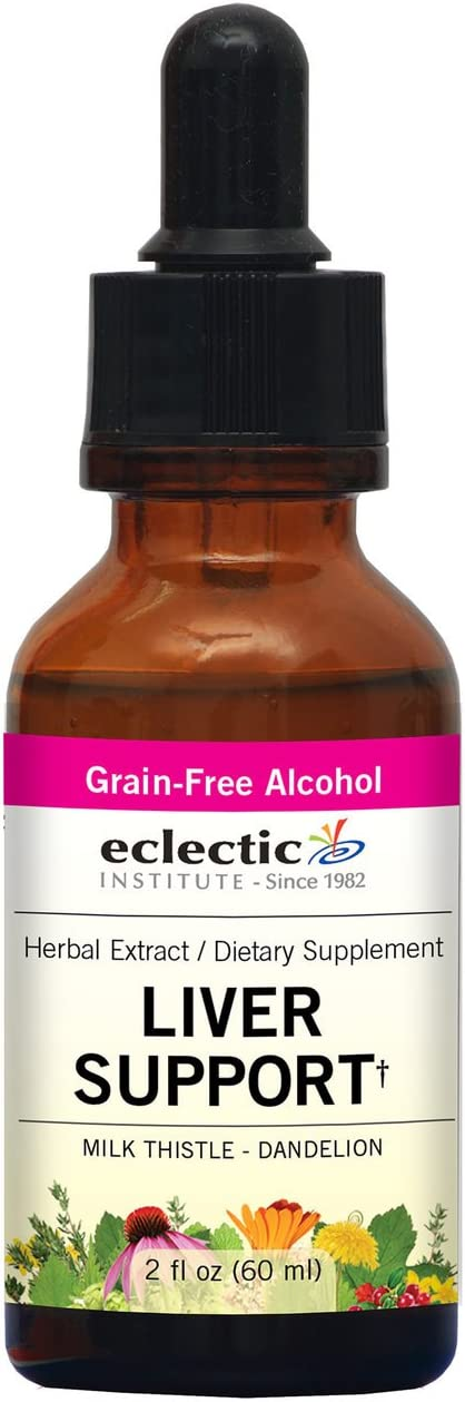 Eclectic Liver Support O, Red, 2 Fluid Ounce