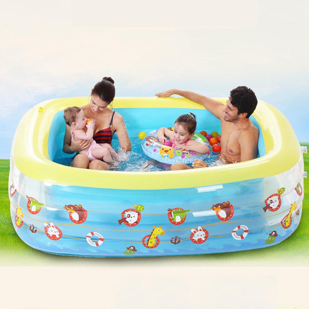 Bañera hinchable piscina niños trompeta grande casa piscina adulto ...