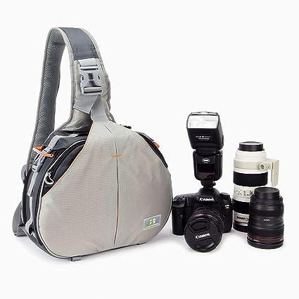 Caseman aos2 Gris Claro cámara réflex digital bolsa de hombro Big ...