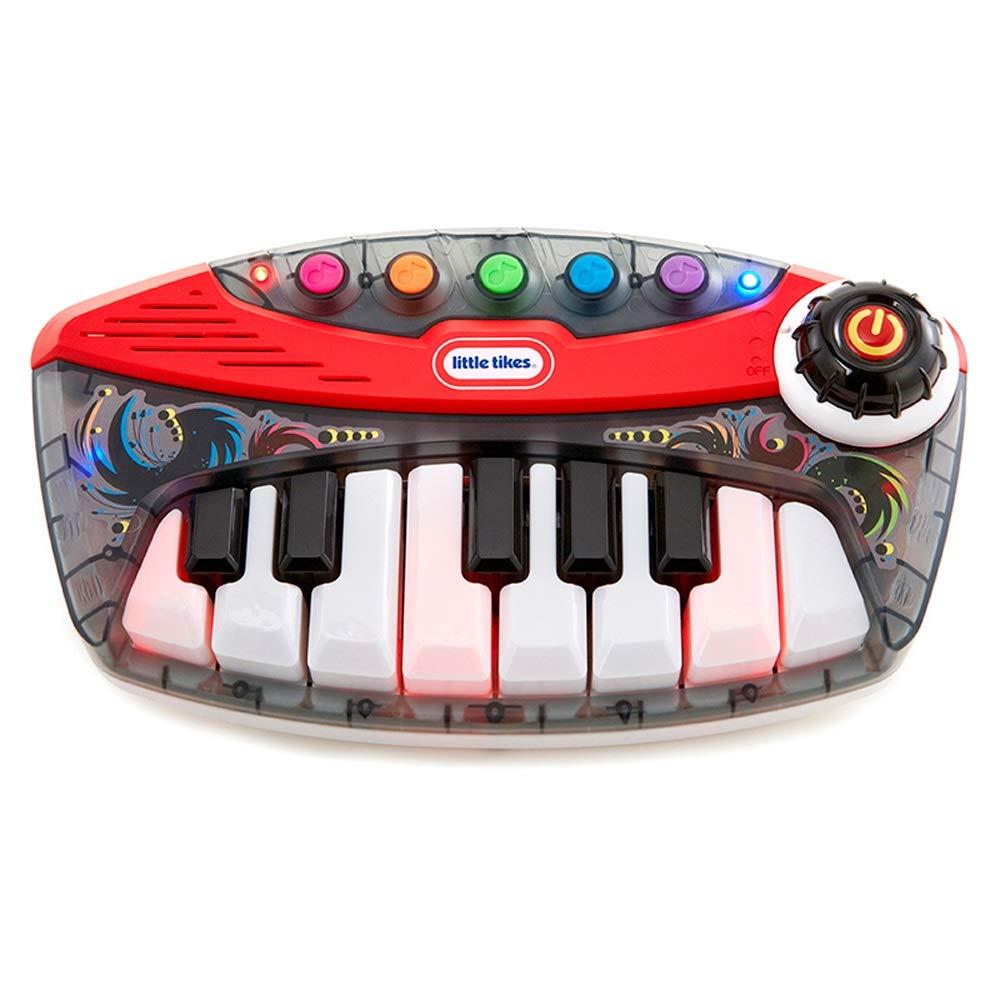 Reducción de precio LIPENG-TOY Percusión Teclado Infantil Doble hilera Teclado Teclado Juguete Bebé Piano (Color