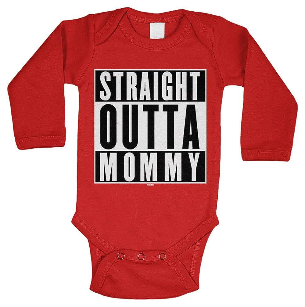Amazon.com: Straight Outta Mommy - Mono divertido: Clothing