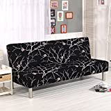 RUGAI-UE Sofa Slipcover sofa cover all fitted armless sofa bed cover type antiskid four pure living room,160-195cm sofa bed use,Outshine others!
