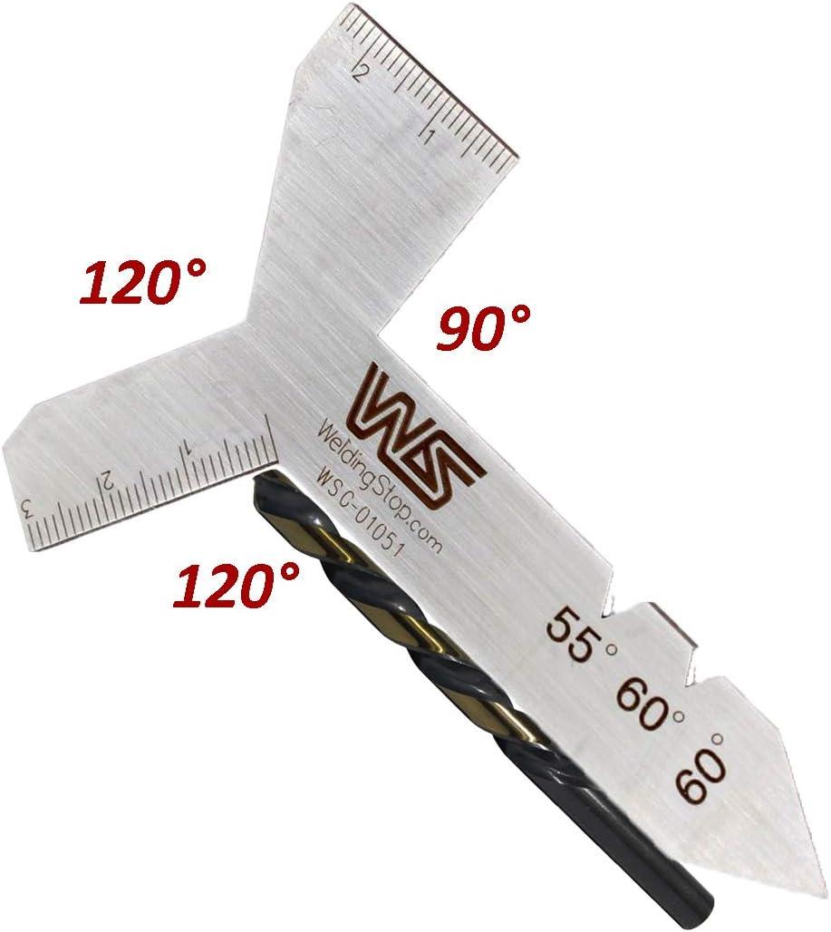 Universal Grinding Metric Gauge Measuring Drill 55° 60° 90° 120° Sharpen Tool