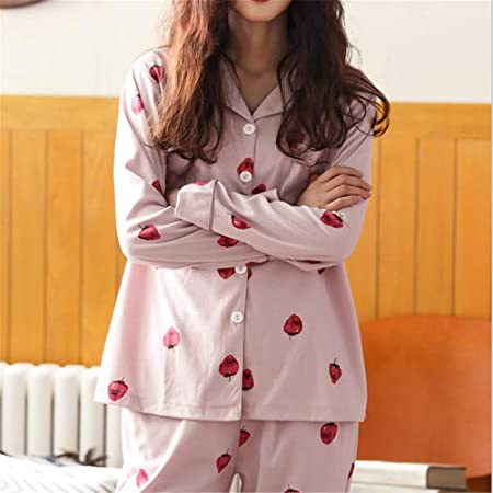 DUJUN Mujer Conjunto de Pijama de Manga Corta para Mujer con ...