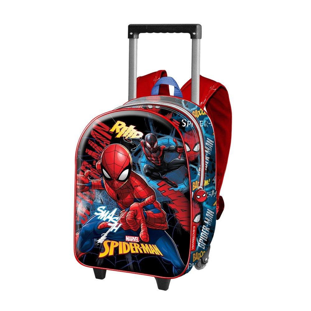 Karactermania Spiderman Smash Mochila Infantil Azul 38 cm