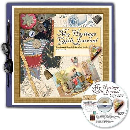 ScrapSMART My Heritage Quilt Journal 12x12 Scrapbook
