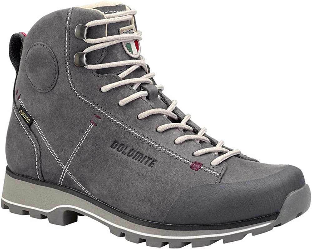 Dolomite Bota Cinquantaquattro High FG W GTX, Chaussures de Randonnée Hautes Mixte Gunmetal Grey