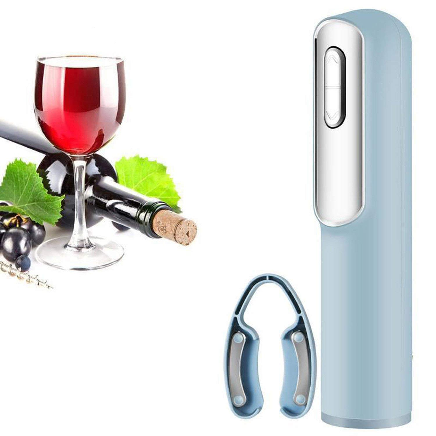 Electric Wine Opener Automatic Wine Bottle Opener Kit With Foil Cutter & Usb Charging Cable Drinking Kitchen Gadgets