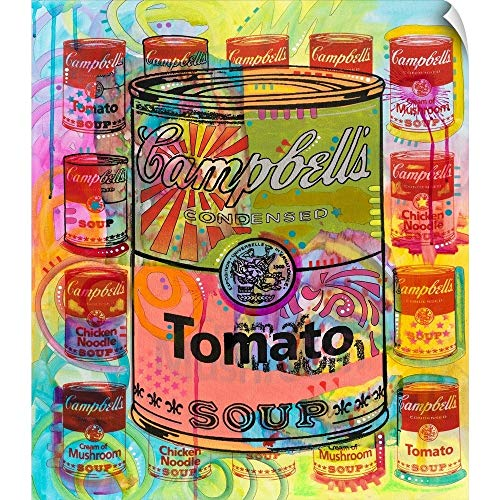 Tomato on Mushrooms Wall Peel Art Print, 21