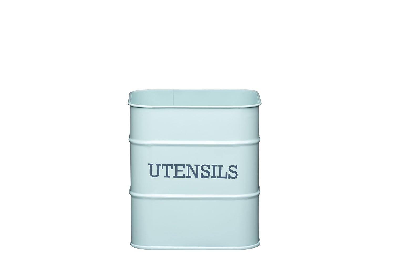 Kitchen Craft ユテンシルストレージポット 15×16cm ブルー LNUTENBLU B00JFRP9VE ブルー