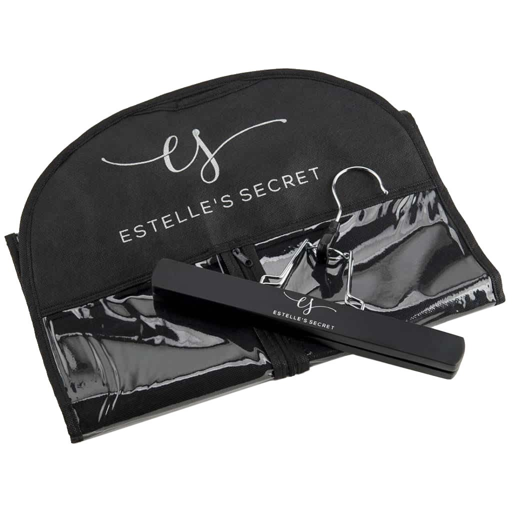 Hair Extension Storage & Travel Kit - Hanger & Bag - Estelle's Secret