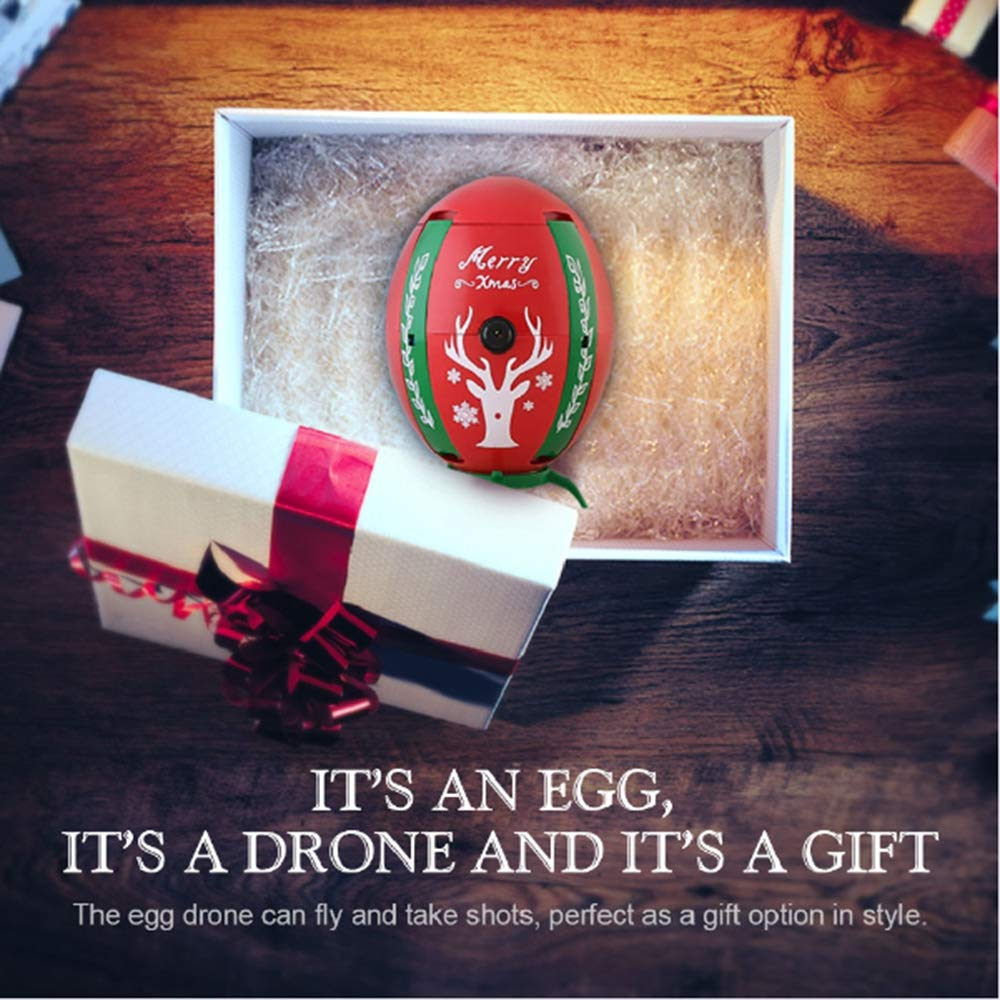 LoMe Mini Drone Santa, dron de Control Remoto de Cuatro Ejes de ...