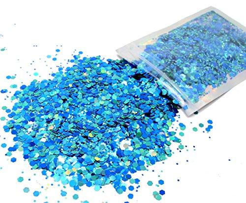 10 Grams ✮ Aqua Blue Cosmetic Glitter ✮ Festival Rave Beauty Makeup Face Body Nail ✮