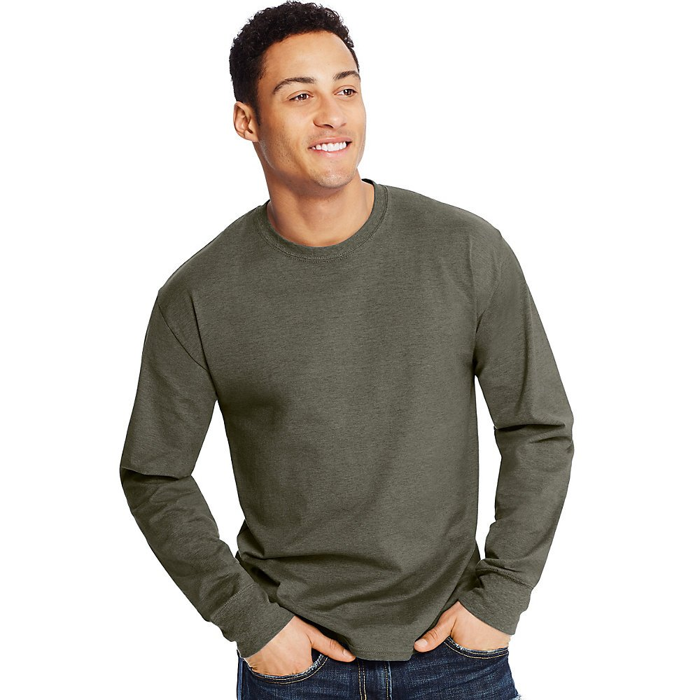 Hanes X-Temp® Men's Long-Sleeve T-Shirt O5716