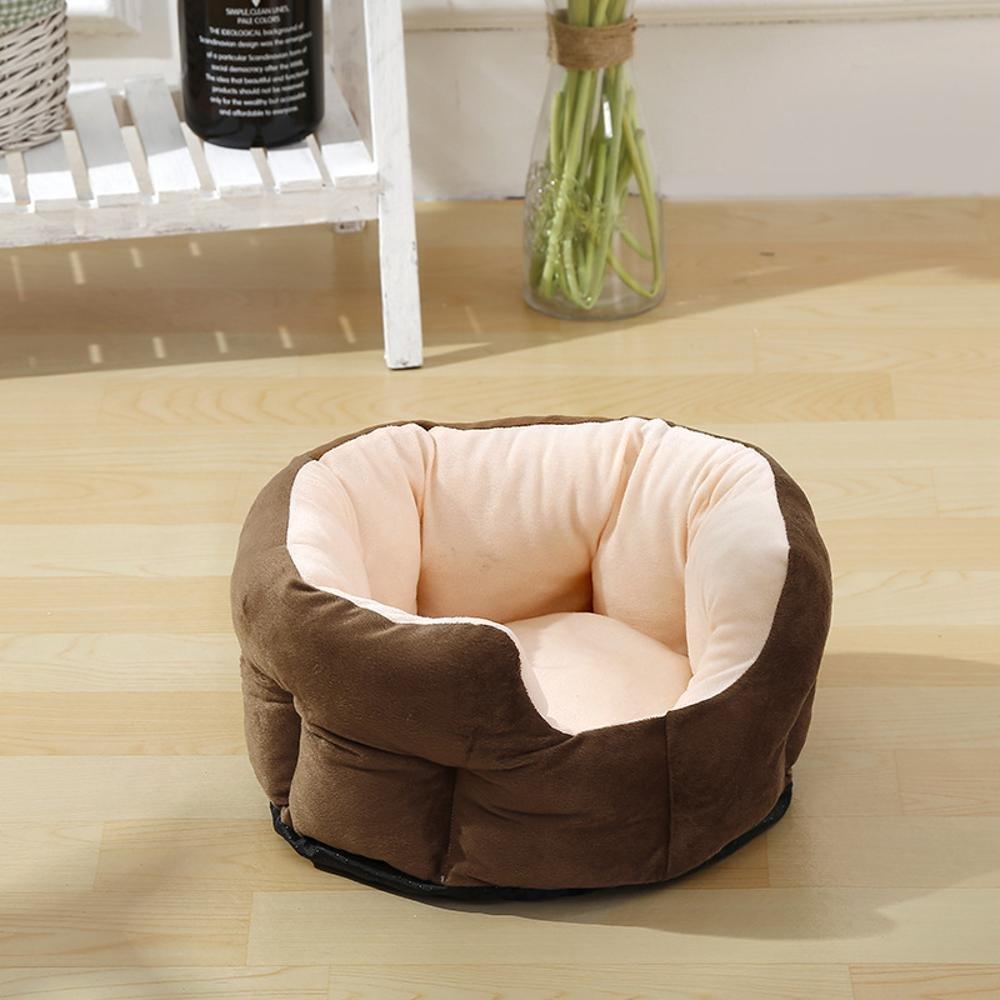B 50cm19cm B 50cm19cm YunYilian Pet Bolster Dog Bed Comfort Four Seasons Dog Kennel Cat Pet nest (color   B, Size   50cm19cm)