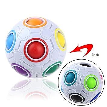 Zzm Regenbogen Wurfel Ball Puzzle Zauberball Iq Spielzeug