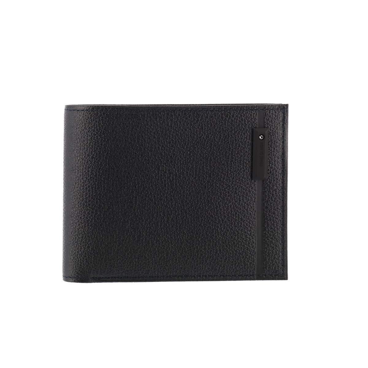 [コムサメン] 二つ折り財布 オンブル メンズ 5665 【10】ブラック - B07G3Q22FX