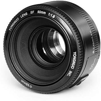 YONGNUO YN EF 50mm f/1.8 AF Lentes 1:1.8 Lente Primer de estandar ...