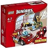 LEGO - 10721 - Juniors - Jeu de Construction - Iron Man contre Loki