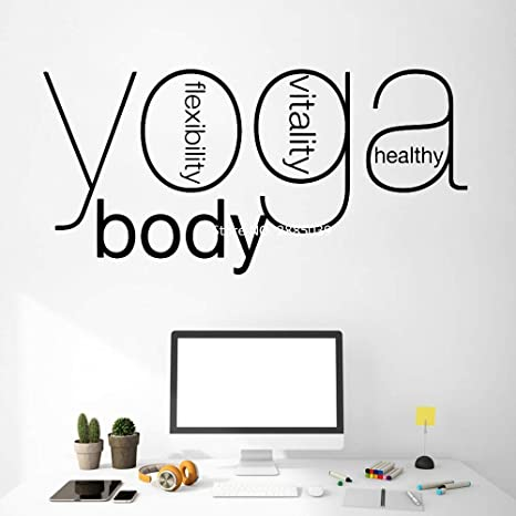 fancjj Yoga Decoración de Pared Living Wall Murals Wall New ...