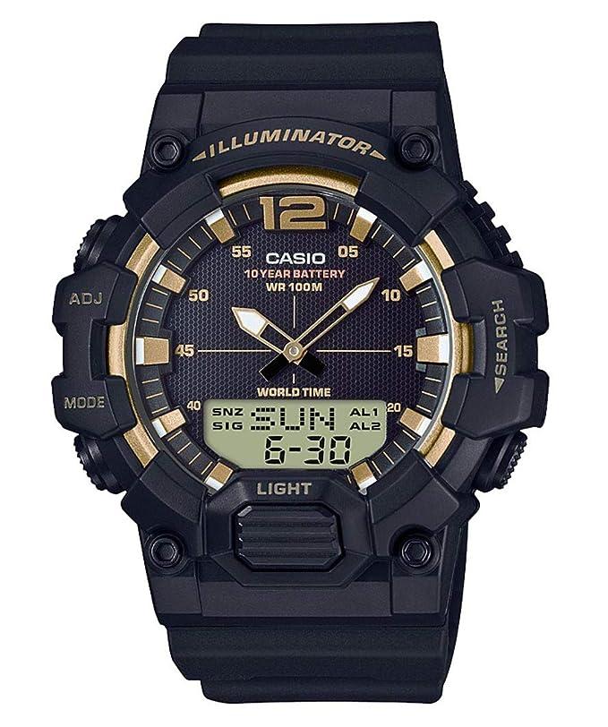 Casio Reloj Digital para Hombre de Cuarzo con Correa en Resina HDC-700-9AVEF: Amazon.es: Relojes