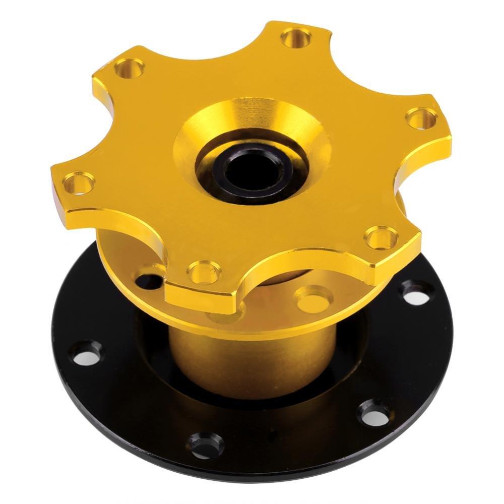 Golden Universal KFZ Lenkradnabe Adapter Quick Release Racing Adapter Snap Off-Boss-Set
