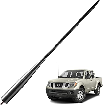 4 inches JAPower Replacement Antenna Compatible with Toyota Tacoma 1995-2015 Titanium