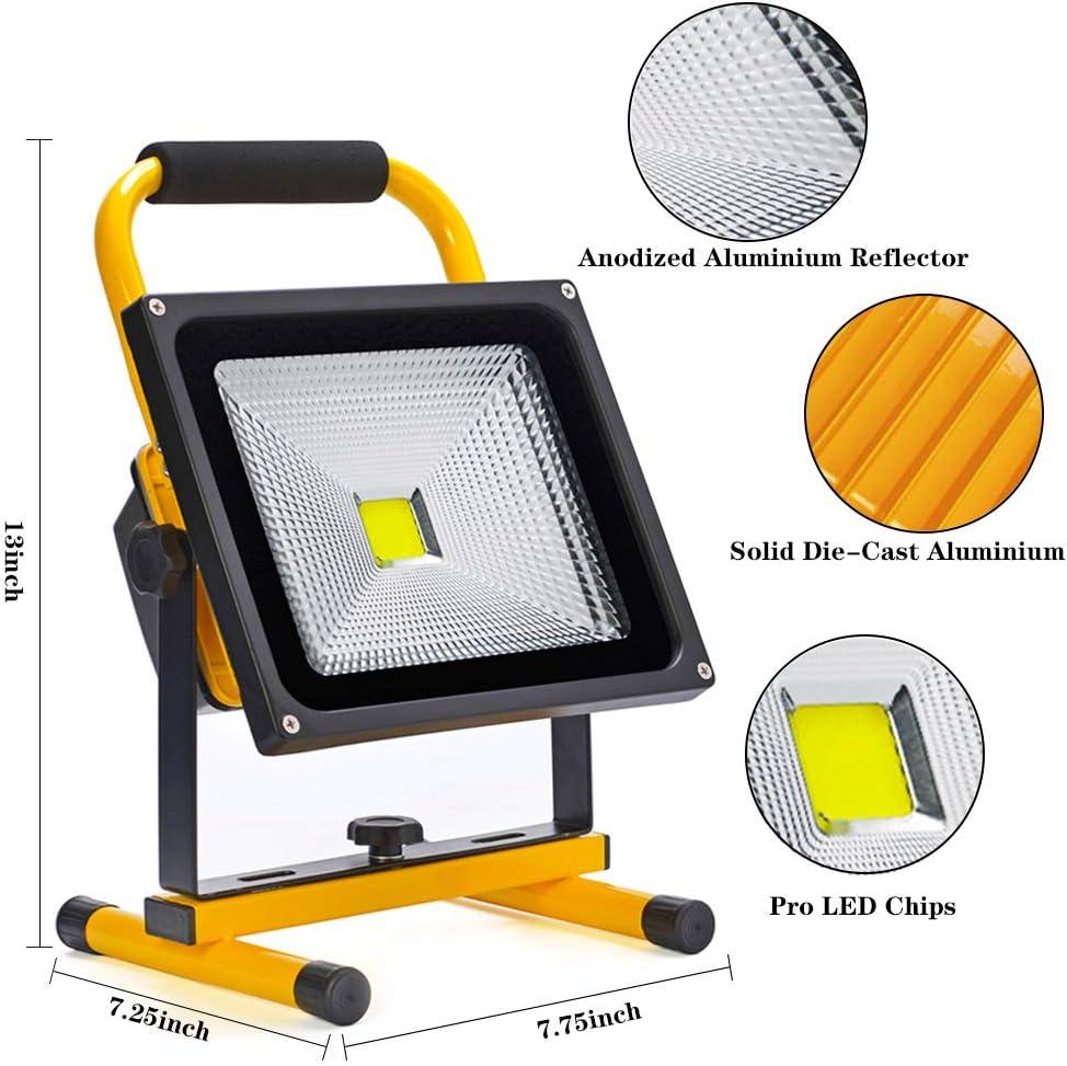 COB Work light battery workshop lamp construction spotlight camping floodlight