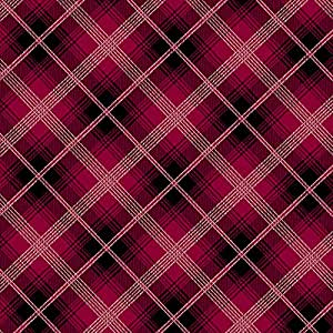 plaid diamonds red anti pill fleece fabric by the yard. Black Bedroom Furniture Sets. Home Design Ideas