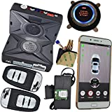 GPS Tracking System Car Engine Start Stop By Smart Key Remote Mobile App Control Car