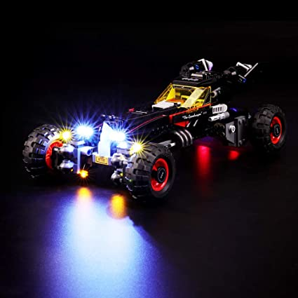 LED Light Kit For Lego 70905 Batman Movie The Batmobile Building Blocks Lighting