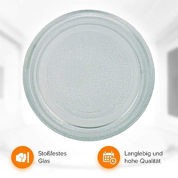Plato giratorio para microondas 245 mm: Amazon.es: Grandes ...