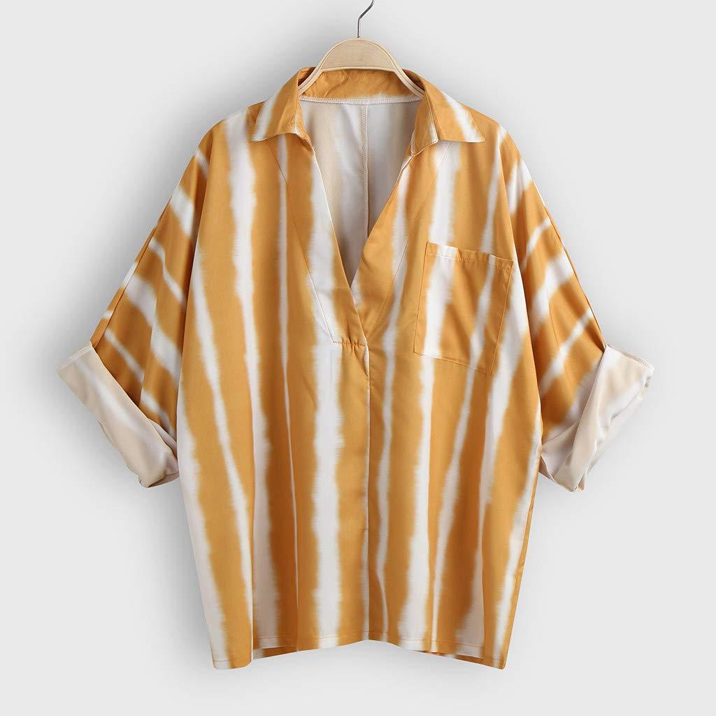 Sylar Blusas para Mujer Elegantes Camisetas De Manga Larga para ...