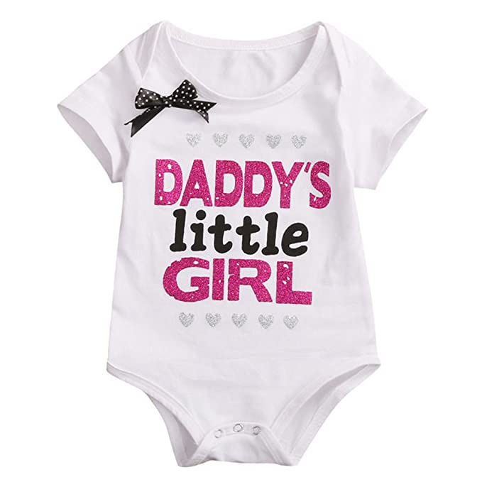 bd5d07e3e9d Alamana Daddy's Little Girl Baby Bodysuit