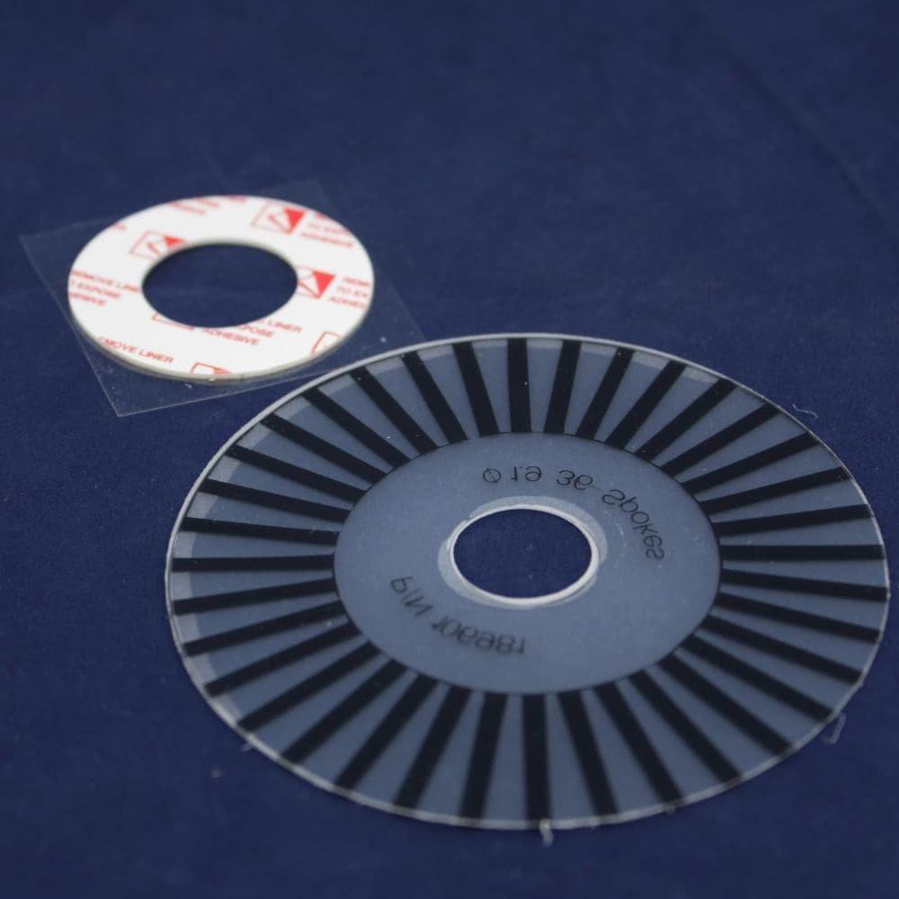 Proform 107052 Treadmill Speed Encoder Wheel Genuine Original Equipment Manufacturer (OEM) Part for Proform, Lifestyler, Weslo