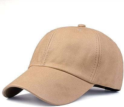 WYLBQM Sombrero Nueva Gorra de béisbol Negra para Mujer Sombreros ...