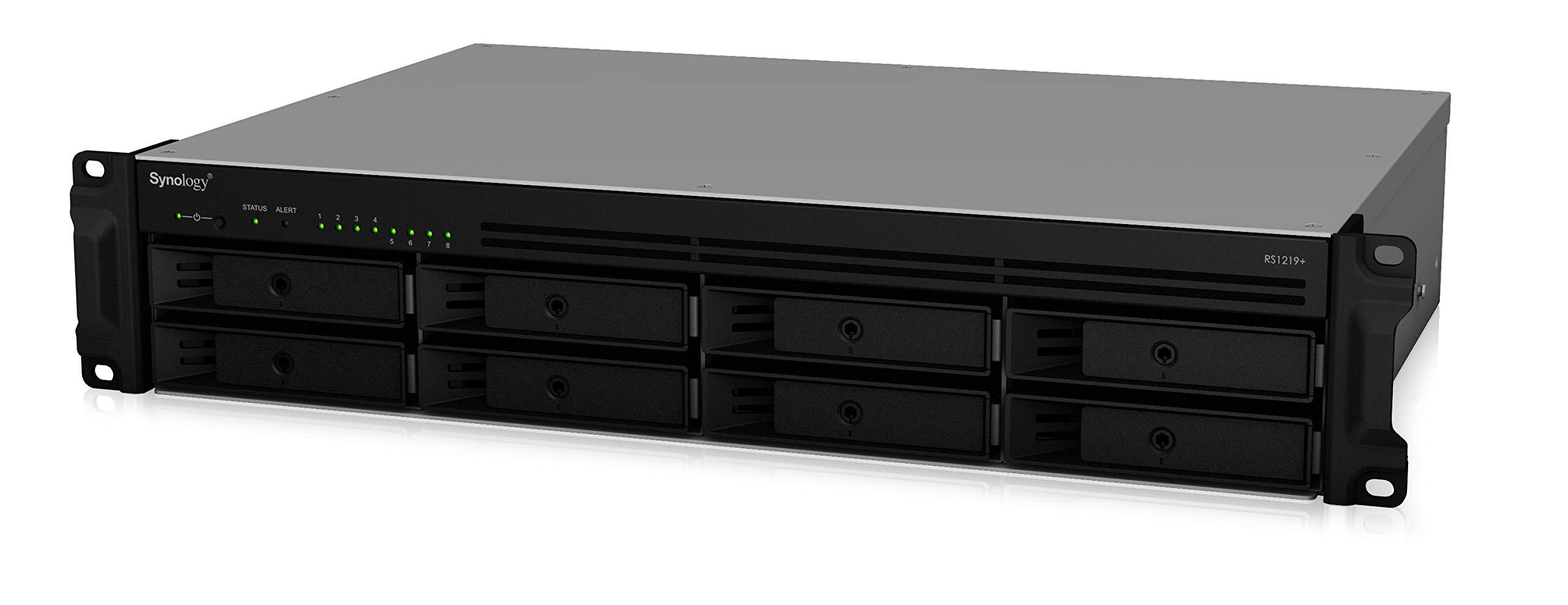 Synology 2U 8-Bay NAS RackStation (Diskless) (RS1219+) by Synology