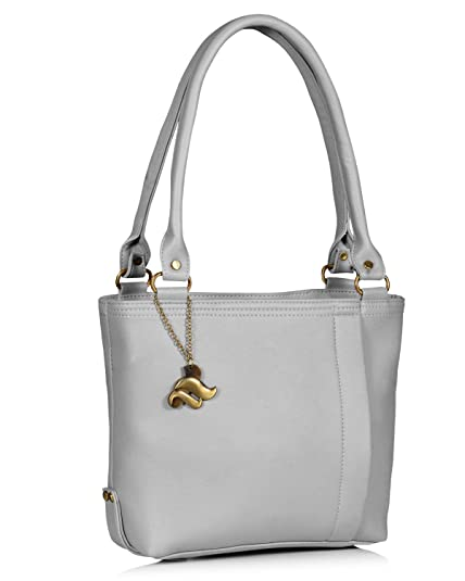 c3522249055 Fostelo Women's Diana Handbag (Grey) (FSB-949): Amazon.in: Shoes ...