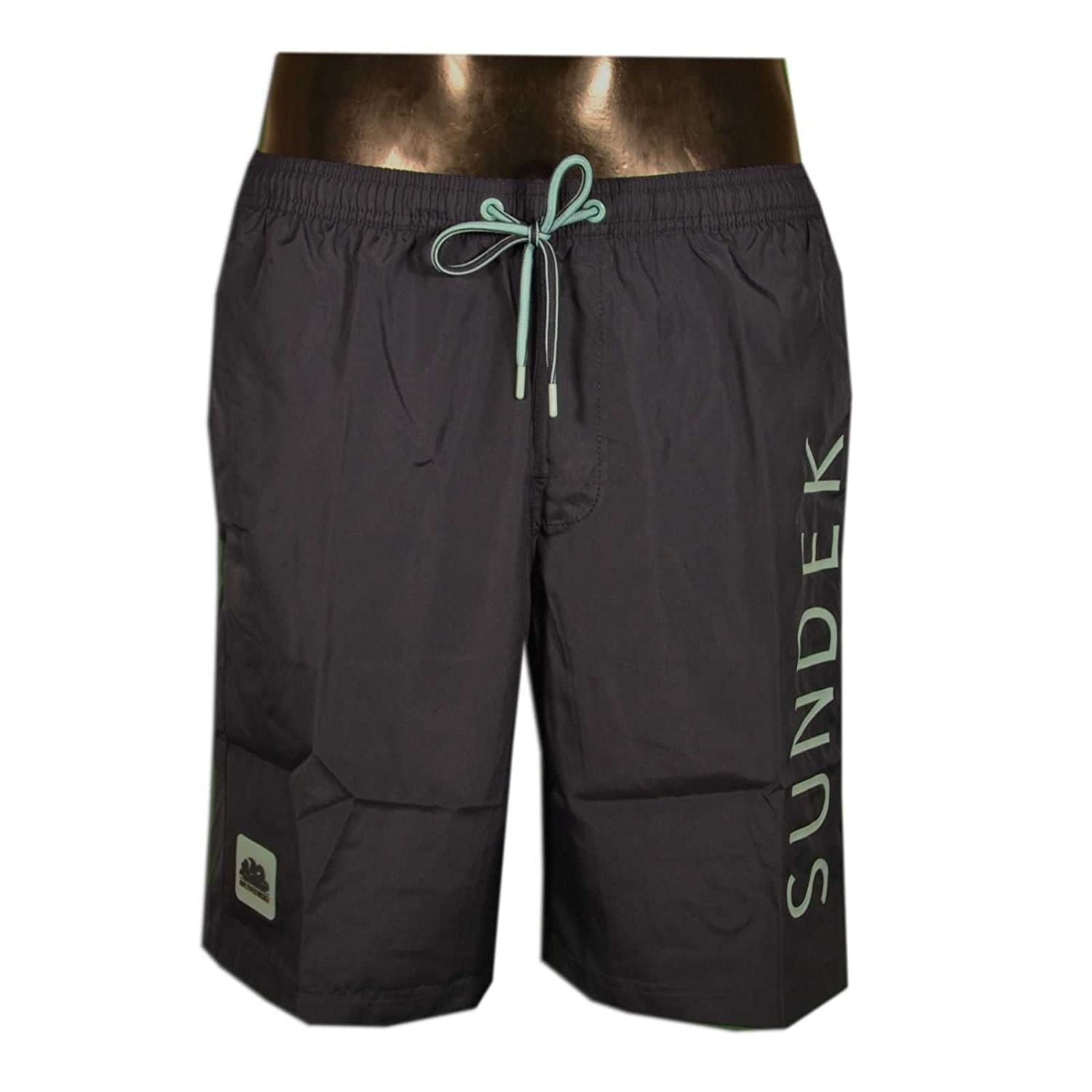 SUNDEK Costume Pantaloncino Da Mare Uomo Blu M696BDP0300-007  Amazon.co.uk   Clothing 267d74354818