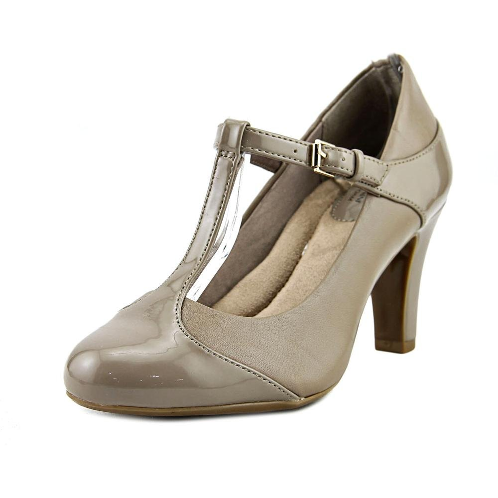 Giani Bernini VINEZA, Mary Jane Pumps Frauen, Cap Toe, T-Strap, Leder11 B(M) US|Mushroom
