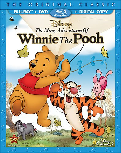 Blu-ray : The Many Adventures of Winnie the Pooh (With DVD, Special Edition, Digital Copy, 2 Pack, Dolby)