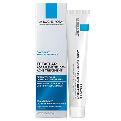 Amazon Com La Roche Posay Effaclar Adapalene Gel 0 1 Acne