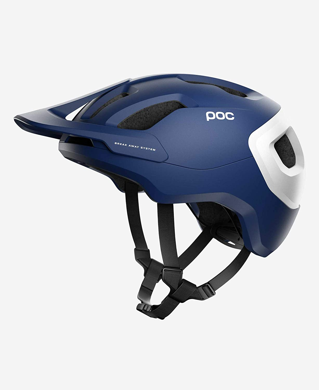 Azul Adultos Unisex M-L//55-58 Poc Axion Spin H Casco de Ciclismo Lead Blue Matt