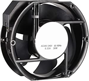 uxcell Cooling Fan 172mm x 150mm x 51mm FP-108EX-S1-S AC 220/240V 0.22A Long Life Sleeve Bearings