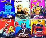 The Muppets Hot Wheels Pop Culture Set Starring: Miss Piggy, Animal, Gonzo, Beaker & Sam the Eagle - Chevy Truck, Fat Fender, Chrysler Airflow, Ford Sedan Statler and Waldorf Judges Real Rider Tires