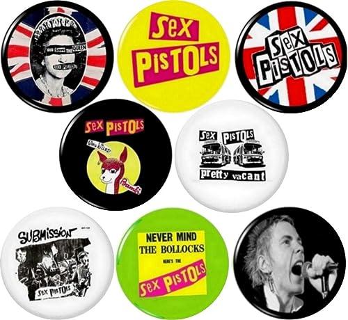25mm badges Anarchy punk NEW