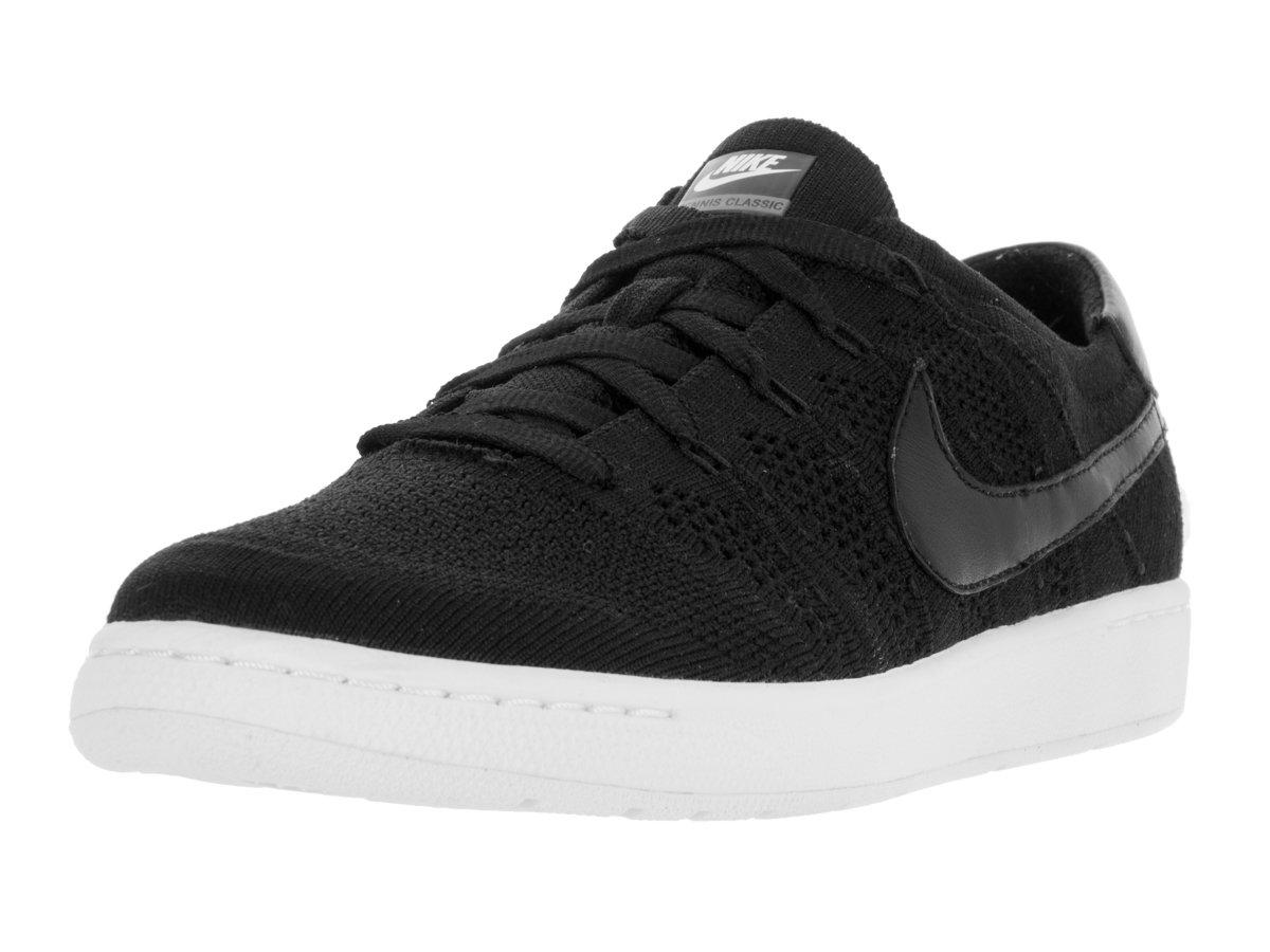 Nike Men's Tennis Classic Ultra Flyknit Black/Black White Dark Grey Tennis Shoe 8 Men US