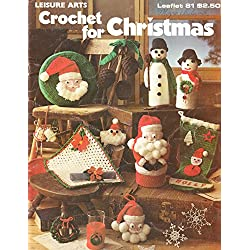 Crochet for Christmas Leaflet 81 and Crocheted Snowflakes and Angels Leaflet 255 - Set of 2