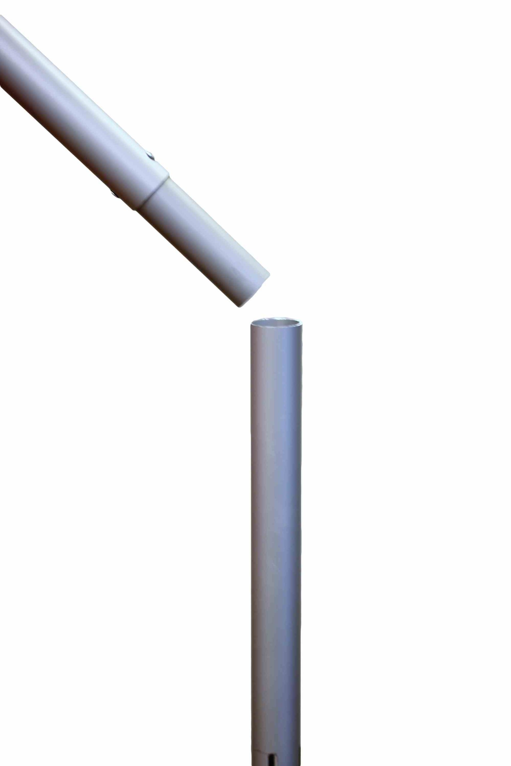 8 Ft. Tall Break-Apart Vertical Slip Fit Upright (For Pipe and Drape Displays and Backdrops) by P.D.O. (Image #2)