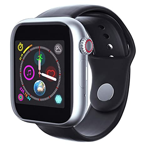 Amazon.com: Perfect Z6 Smart Watch with Sim Card TF Camera 2 ...
